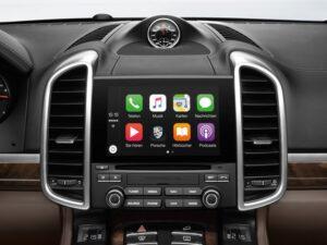 Apple Car Play Porsche Cayenne